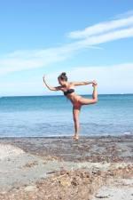 Posture Yoga cap corse
